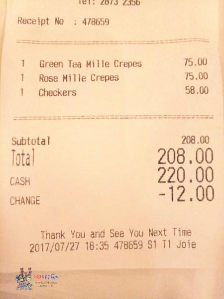 香港旅遊,香港美食,LadyM,海港城,千層蛋糕,貴婦甜點