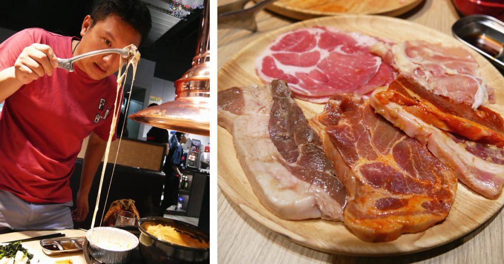 桃園美食,ATT筷食尚,吃到飽,韓式烤肉,豬五花,便宜吃到飽,桃園市民卡,起司,聚餐,桃園火車站