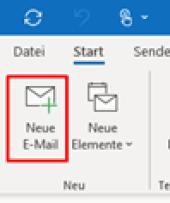 So erstellen Sie eine Outlook Signatur