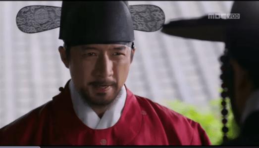 獄中花第8話 カン・ソノに命令するユン・ウォニョン