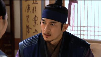獄中花第12話 驚くユン・テウォン