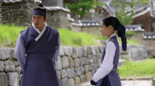 獄中花第18話 気まずいオンニョとユン・テウォン