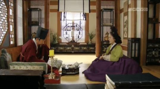 獄中花第18話 ユン・ウォニョンとチョン・ナンジョン