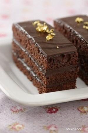 バレンタイン生チョコケーキ