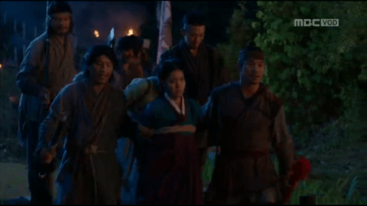 獄中花(オクチュンファ)第22話 山賊に捕まるオンニョ