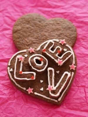 バレンタイン ハートラブチョコクッキー