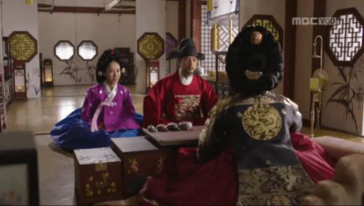 獄中花(オクチュンファ)第28話 文定王后に謁見するチョン・ナンジョン