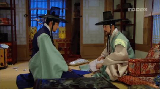獄中花(オクチュンファ)第32話 問い詰めるユン・ウォニョン