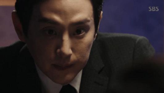 韓国ドラマ「耳打ち(ささやき)」第3話 打ち明けるカン・ジョンイル