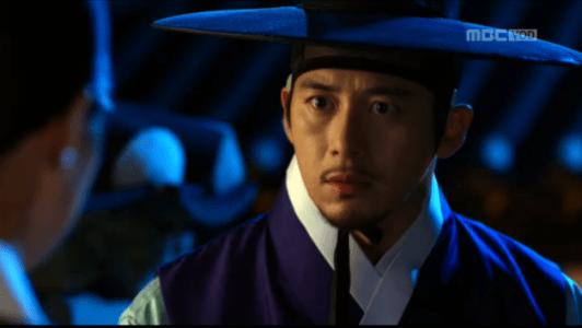 獄中花(オクチュンファ)第33話 驚くユン・テウォン