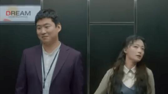 韓国ドラマ「サムマイウェイ」2話 エレベーターに乗るキム・チュマン