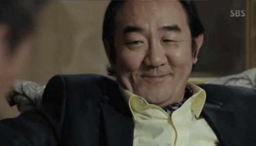 韓国ドラマ「耳打ち(ささやき)」6話 取引するカン・ユテク