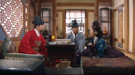 獄中花(オクチュンファ)第44話 殿下について尋ねるチョン・ナンジョン