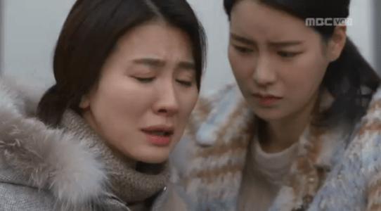 吹けよ、ミプン第35話 涙を流すチュ・ヨンエ