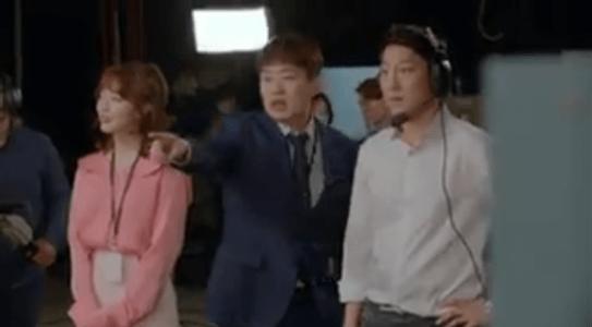 韓国ドラマ「サム、マイウェイ」9話 指示するキム・チュマン