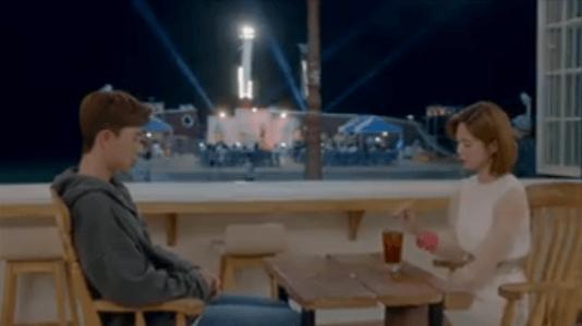 韓国ドラマ「サム、マイウェイ」10話 お茶をするコ・ドンマン
