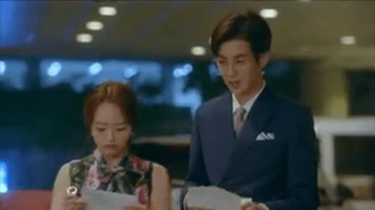 韓国ドラマ「サム、マイウェイ」7話 他の女性と参加するパク・ムビン