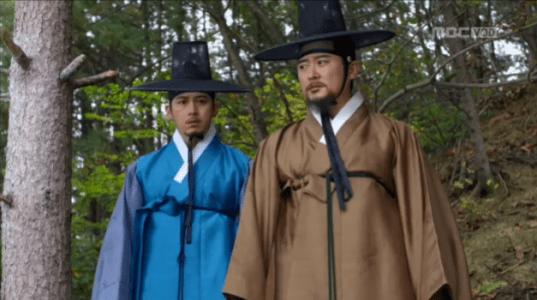 獄中花(オクチュンファ)第46話 私兵について説明するカン・ソノ