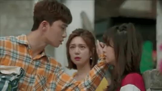 韓国ドラマ「サム、マイウェイ」8話 涙を拭くコ・ドンマン