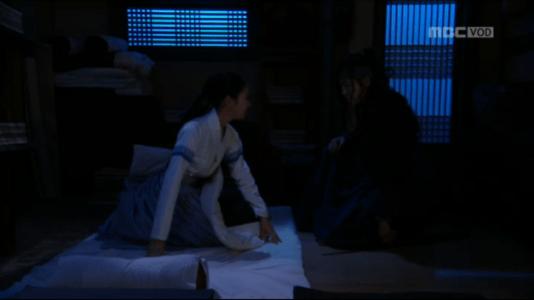 獄中花(オクチュンファ)第45話 飛び起きるオンニョ