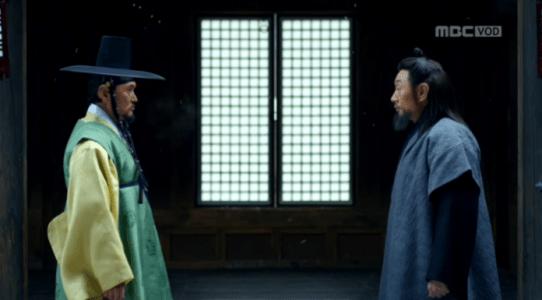 韓国ドラマ「君主(クンジュ)」1話 取引するイ・ユン