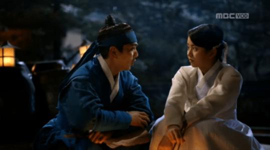 韓国ドラマ「君主(クンジュ)」2話 尋ねるイ・ソン