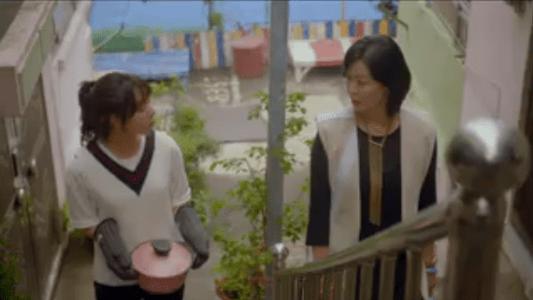 韓国ドラマ「サム、マイウェイ」15話 食事に誘うチェ・エラ
