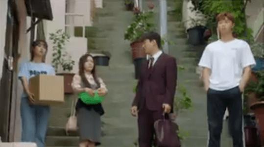 韓国ドラマ「サム、マイウェイ」16話 顔を合わせる4人