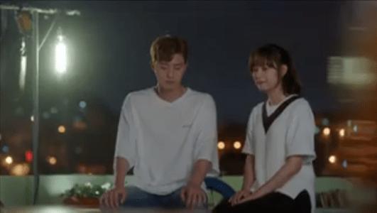 韓国ドラマ「サム、マイウェイ」15話 屋上で話すコ・ドンマン