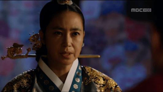 「君主(クンジュ)~仮面の主人~」第6話 主上に会うという王后