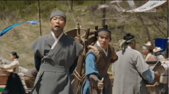 「君主(クンジュ)~仮面の主人~」第5話 行商人に習う