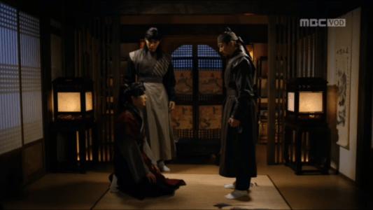 「君主(クンジュ)~仮面の主人~」第7話 謝罪するイ・ソン