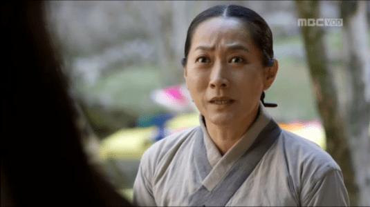 「君主(クンジュ)~仮面の主人~」第9話 驚くソンデク