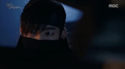 「王は愛する」第9話 ビヨンを助けるムソク