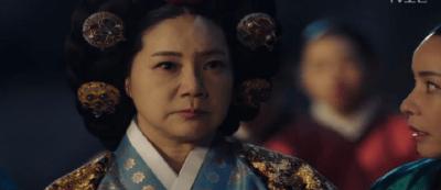 [不滅の恋人] 第9話 驚愕する大妃シム氏