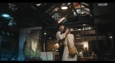 [椿の花咲く頃] 第14話 トンベクを抱きしめるヨンシク