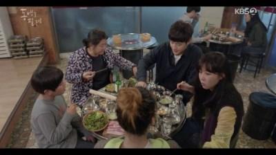 [椿の花咲く頃] 第23話 焼き肉を食べるトンベクたち