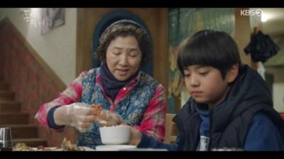 [椿の花咲く頃] 第39話 ピルグに食事させるトクスン