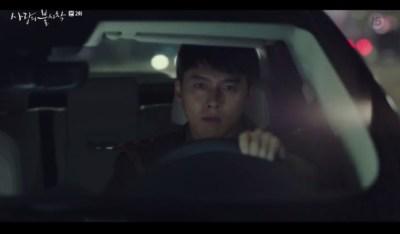 [愛の不時着] 第2話 急いで車を走らせるジョンヒョク