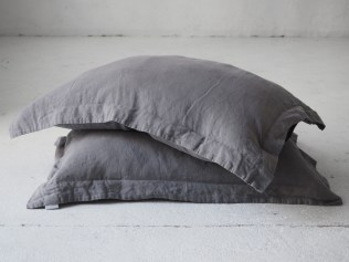 Oxford linen pillowcases