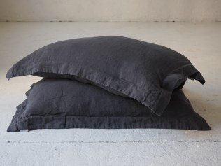 Oxford linen pillow cover 20x36