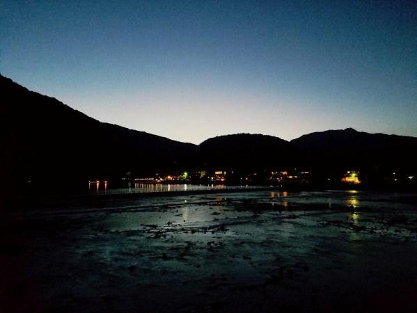 嵐山 観月橋 夜景