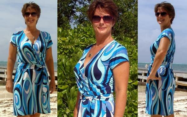 Women's Wrap Dress - Free Sewing Pattern