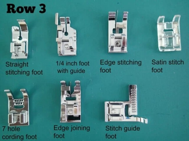 More Presser Feet Than You Will Ever Need - So Sew Easy