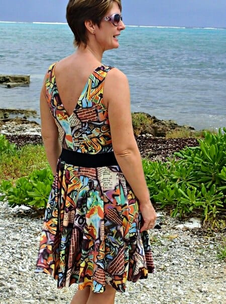 Graffiti Dress for Women – Free Sewing Pattern