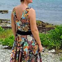Graffiti Dress for Women - Free Sewing Pattern