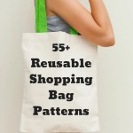 55 Reusable Shopping Bag Patterns Say No To Plastic So Sew Easy