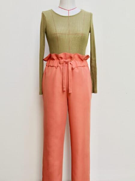 Free sewing pattern: Paper bag pants