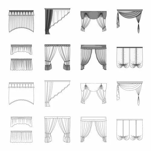 best free 80 curtains sewing patterns