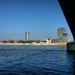 Köln, Rhein, Rheinufer, Fluß